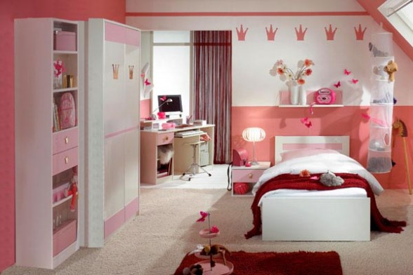 20 girls room design ideas freshnist for Bedroom ideas for girls in their 20s