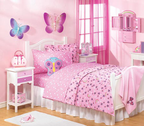 Bedroom Teenage Small Girls Room Purple Large Size: 20 Girls Room Design Ideas