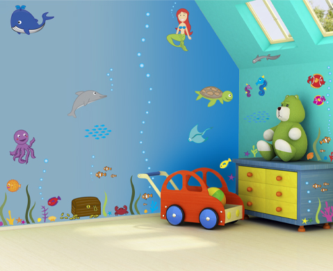 Great Kids Wall Ideas 10 Kids Bedroom Wall Decor Ideas Freshnist
