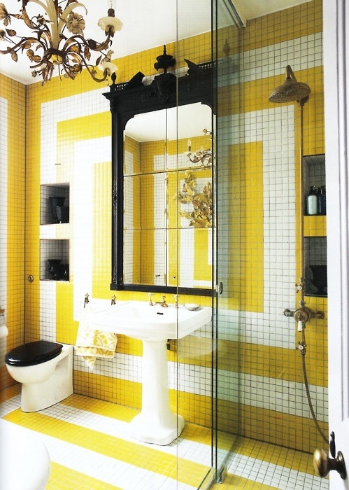 Black White And Yellow Bathroom Best Bathroom 2017