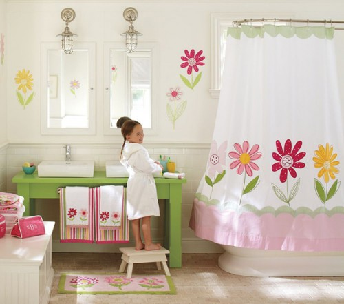 30 modern bathroom designs for teenage girls freshnist On toddler girl bathroom ideas
