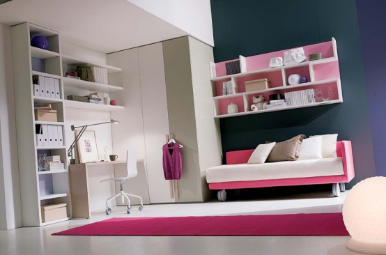 Cool Teenage Girl Bedrooms 90 cool teenage girls bedroom ideas | freshnist