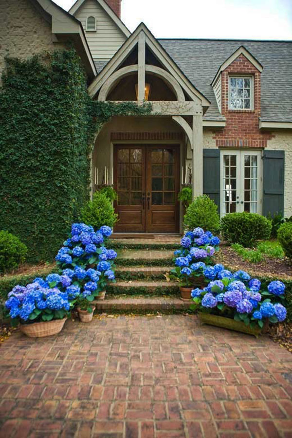 Beautiful front door decorations and designs ideas for Front street home designs