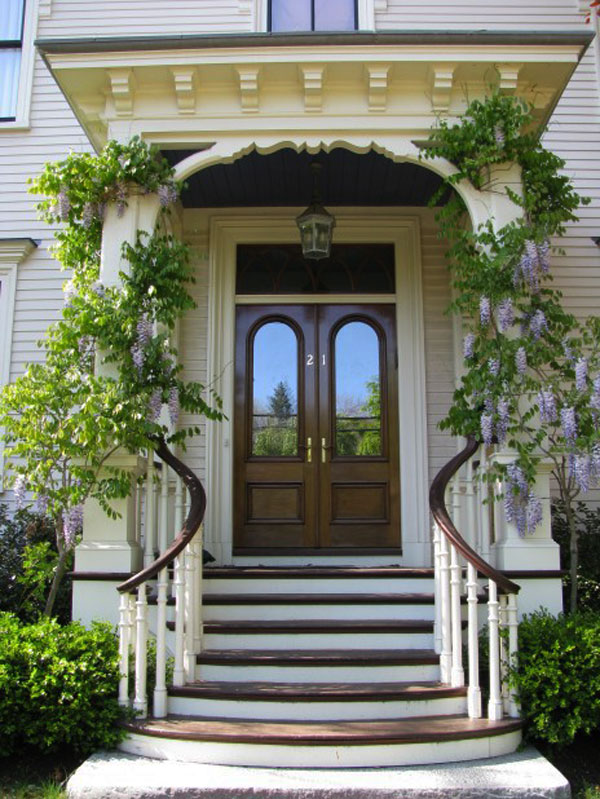 52 beautiful front door decorations and designs ideas freshnist for Beautiful home entrance design