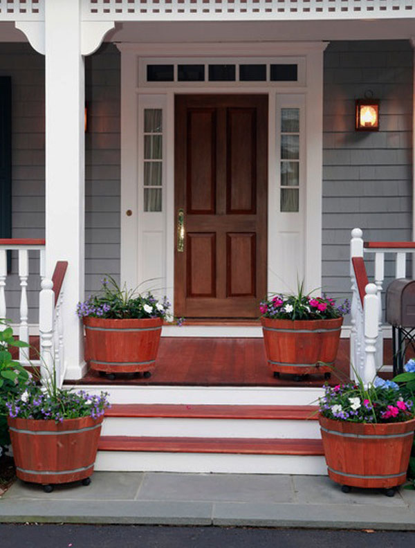 52 beautiful front door decorations and designs ideas for Exterior entryway designs