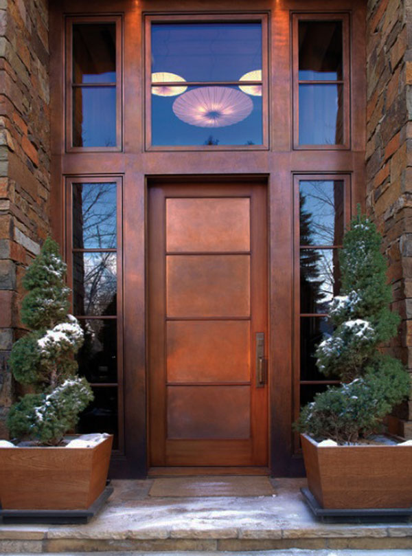 52 beautiful front door decorations and designs ideas for Exterior glass door designs for home