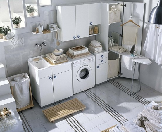 20 Modern Laundry Room Design Ideas