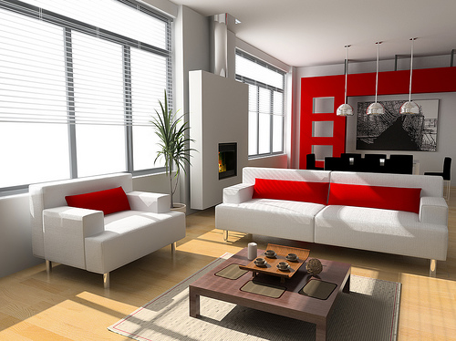 45 home interior design with red decorating inspiration