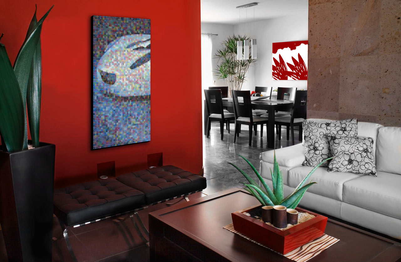45 home interior design with red decorating inspiration Living room designs 2012