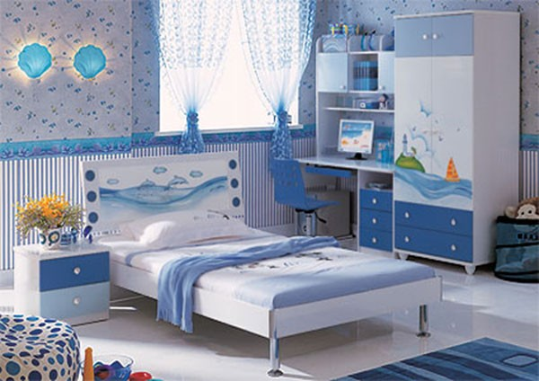 Unique Interior Look Of Children's Bedrooms