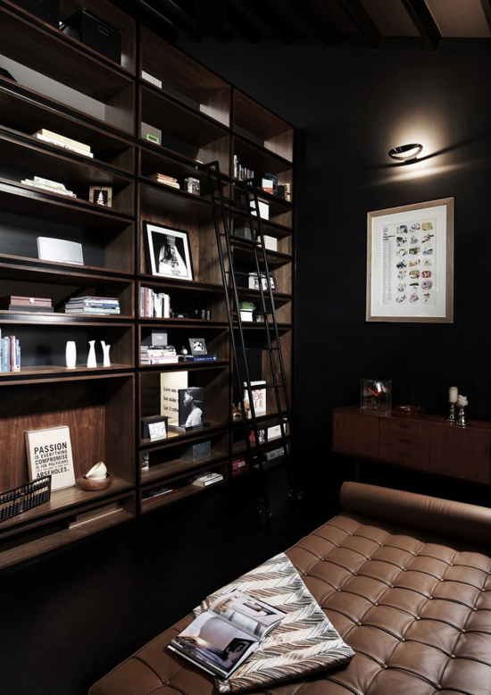 Modern And Black Shop House Interior Design In Singapore Freshnist