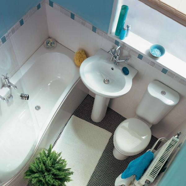 small white bathrooms design