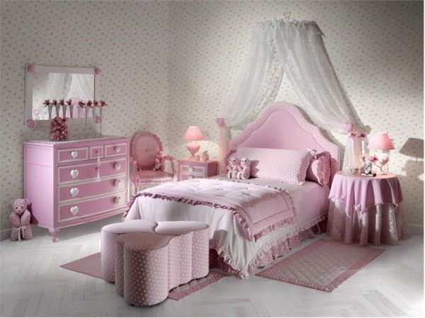 Modern Accessories Tips For Girls Bedroom