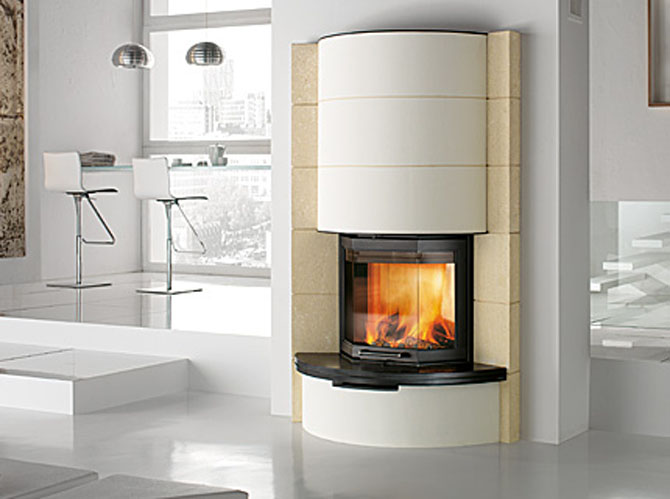 Fireplaces ideas on needs of every home freshnist Luxury fireplace designs