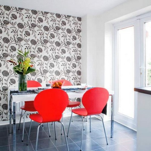 Modern dining room inspiration 10 design ideas freshnist for Dining room design inspiration