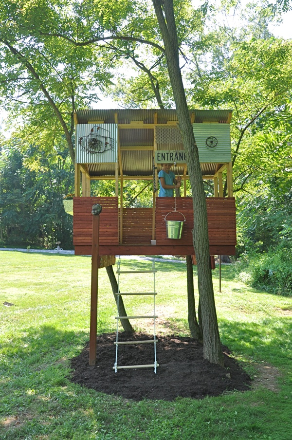 33 simple and modern kids tree house designs freshnist