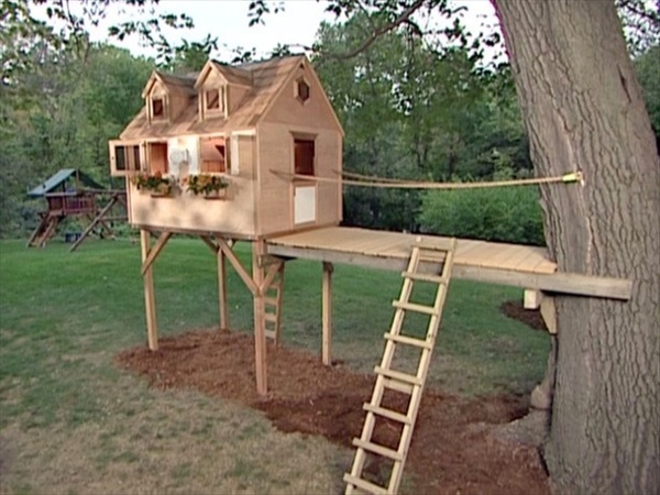 Simple Tree House Plans For Kids Kids tree house designs