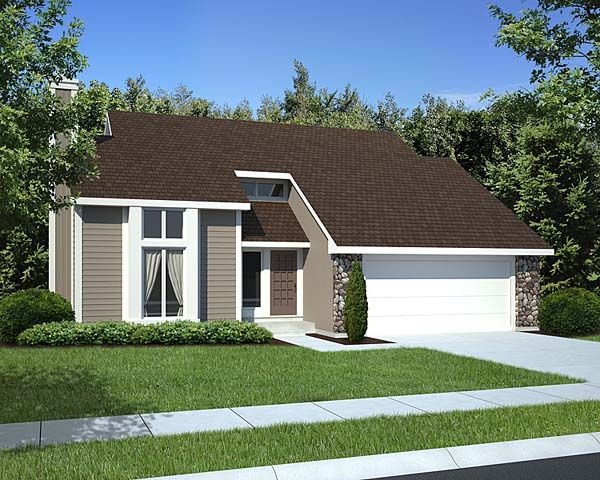Gallery simple house design for Simple contemporary house