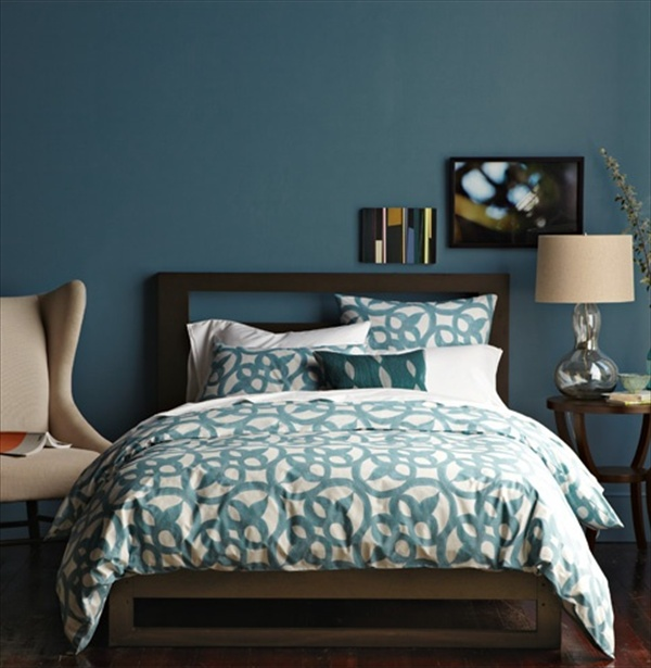 12 fabulous look teal bedroom ideas freshnist for Teal bedroom designs
