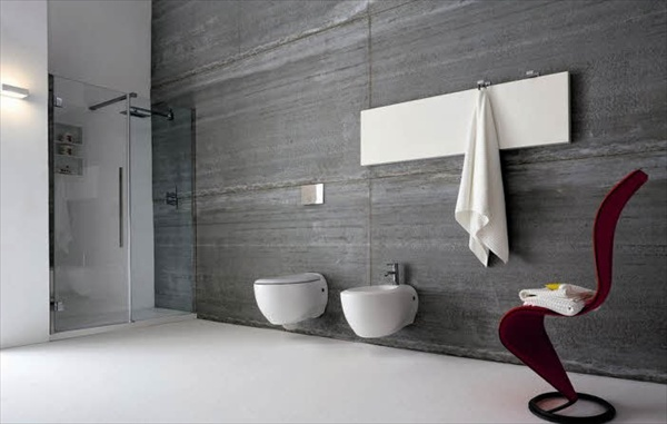 11 grey bathroom ideas freshnist for Grey and white bathroom decor
