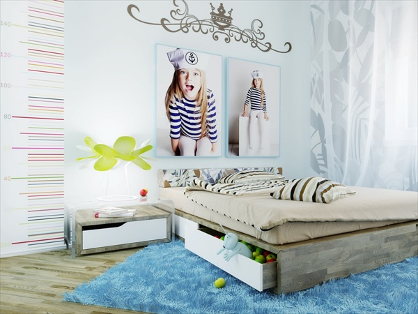 Decorating Girls Bedrooms DIY Wall Decor