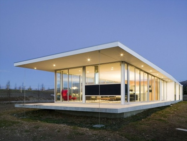 Modern wanaka house of new zealand built by crosson clarke for Modern house designs nz