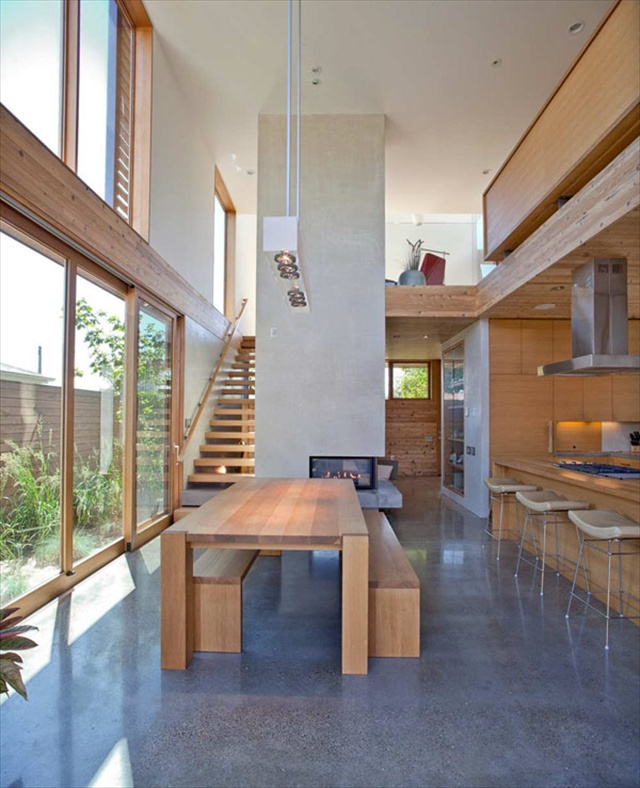 The modern wooden house by plastolux portland freshnist Modern house portland
