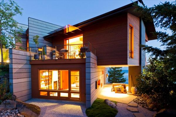 Modern And Cozy House At The Coast Of San Juan Island