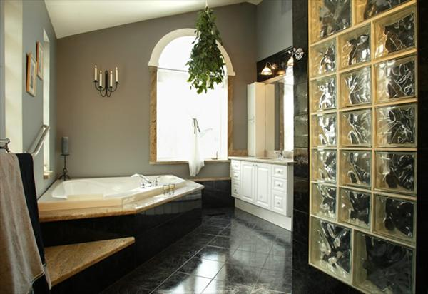 10 modern and luxury master bathroom ideas freshnist for Small modern bathroom designs 2012