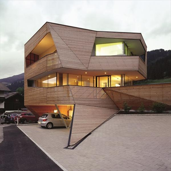 Modern Cube House In The Dolomite Mountains Freshnist