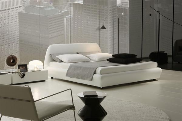 white luxury bedroom design