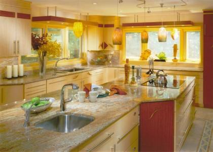 5stone - Colorful Kitchen Design
