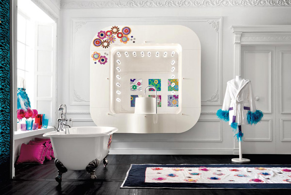 30 modern bathroom designs for teenage girls freshnist for Teen bathroom pictures