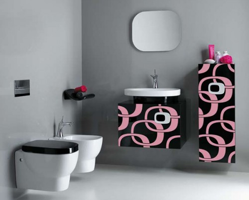 30 modern bathroom designs for teenage girls freshnist for Bathroom decor 2012