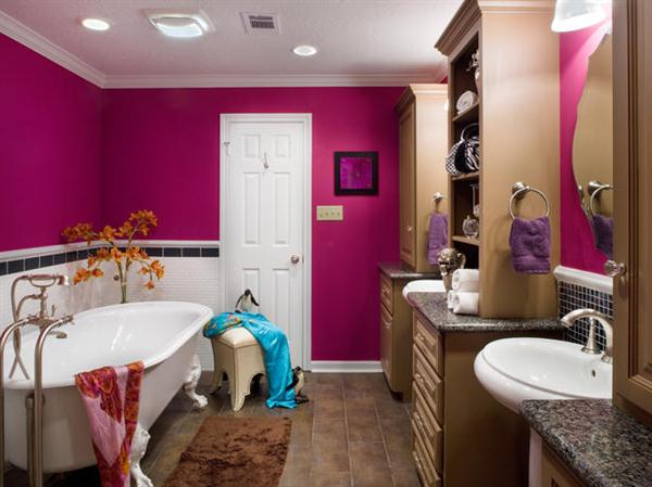 30 modern bathroom designs for teenage girls freshnist for Bathroom models images