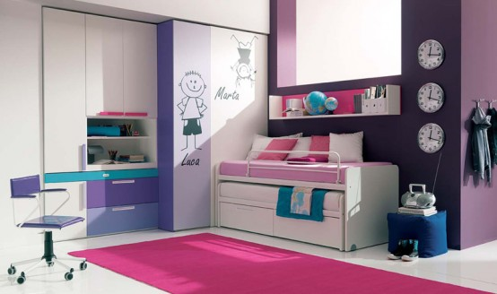 Awesome Teenage Girl Bedrooms 90 cool teenage girls bedroom ideas | freshnist