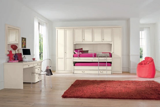 awesome teenage girl bedroom color ideas | 90 Cool Teenage Girls Bedroom Ideas | Freshnist