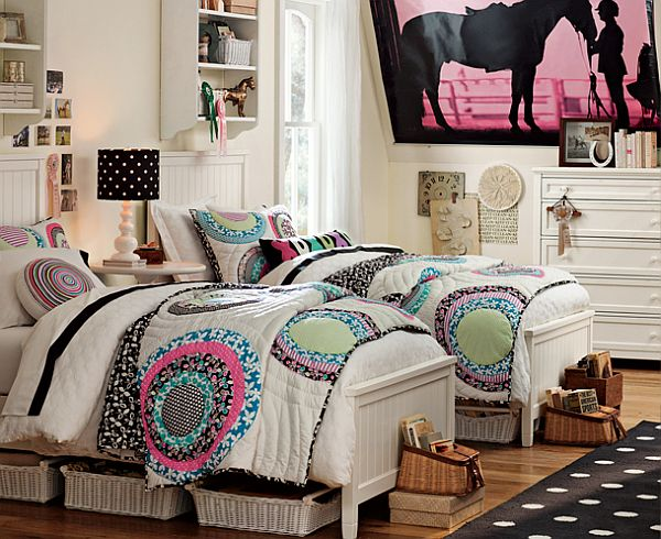 90 cool teenage girls bedroom ideas freshnist for Room interior design for teenagers
