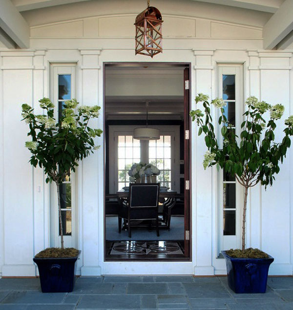 Home Entrance Decor: 52 Beautiful Front Door Decorations And Designs Ideas