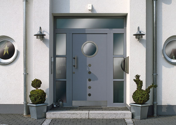Via freshome52 Beautiful Front Door Decorations and Designs Ideas   Freshnist. Modern House Front Door Designs. Home Design Ideas