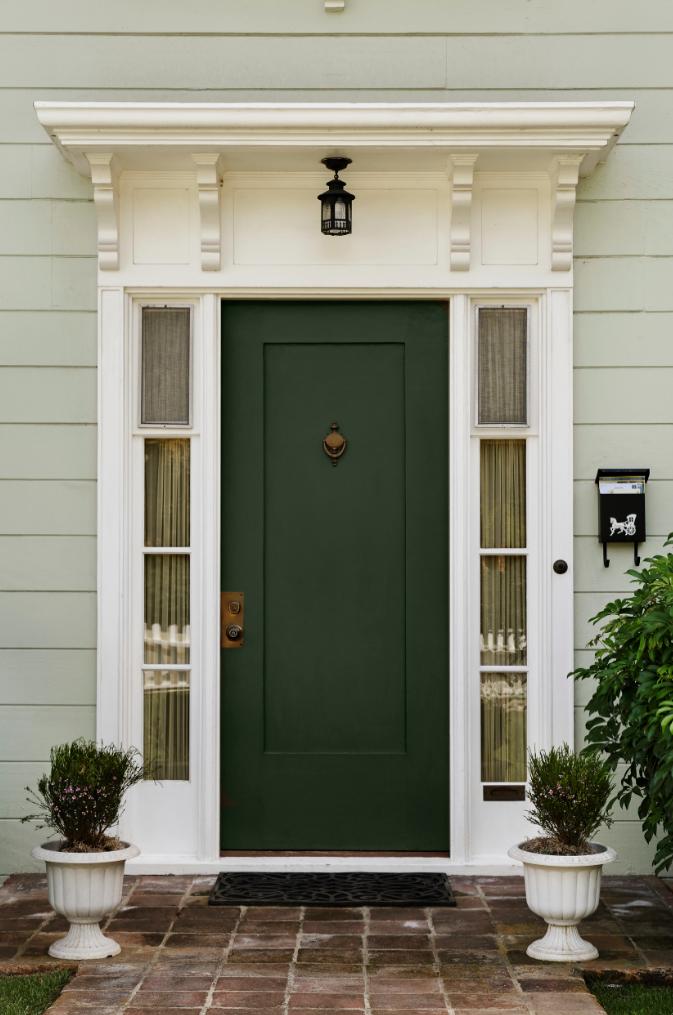 52 Beautiful Front Door Decorations and Designs Ideas ... on Door Color Ideas  id=96178