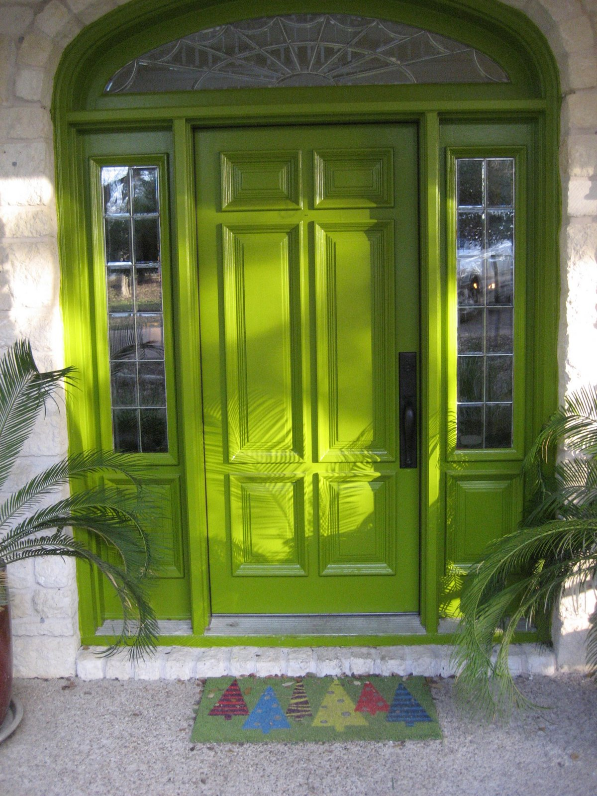 Front Entry Ideas Delectable With Green Front Door Colors Pictures