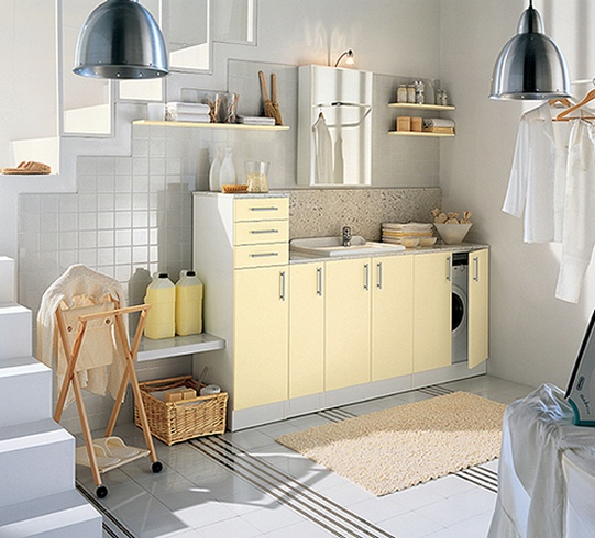 20 modern laundry room design ideas freshnist for Laundry room design ideas