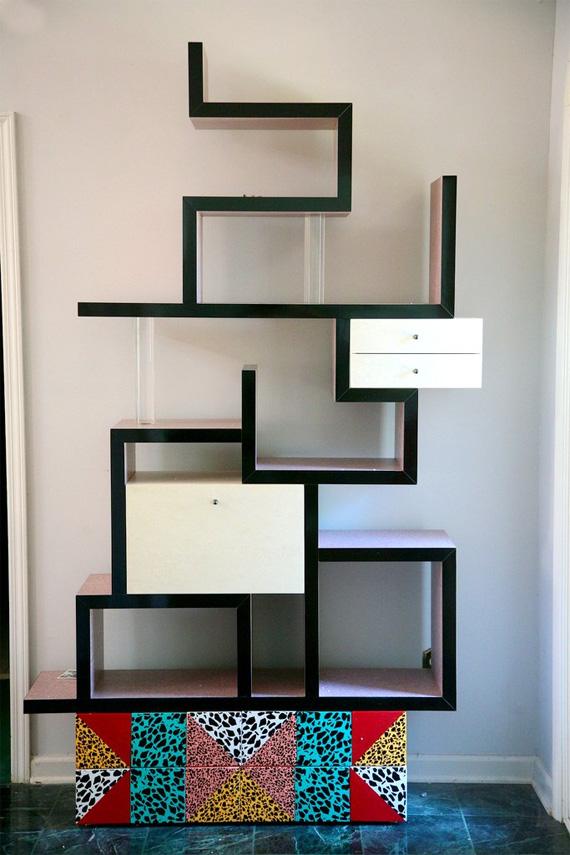 20 modern bookcases and shelves design ideas freshnist - Modern bookshelf plans ...