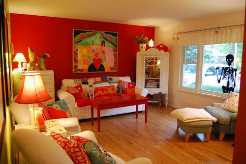 Red Decoration For Living Room Best Mesmerizing Decoration For
