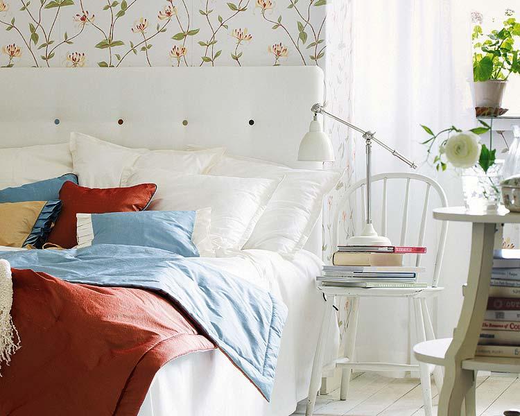 обустройство спальни интерьер фото