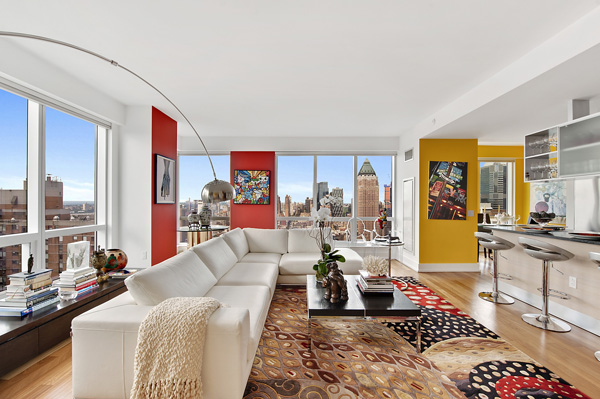 Beautiful dazzling apartment design ideas in new york for Room design new york