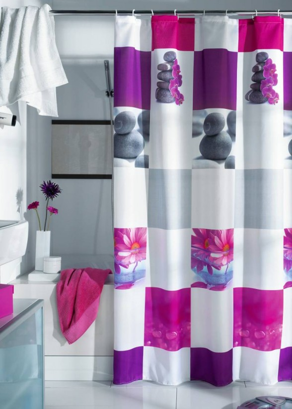 with curtains shower impressive teen to property blue modern for curtain girl cool regard