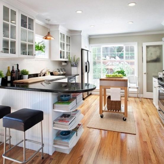 Small Kitchen Inspiration: 10 Design Ideas   Freshnist