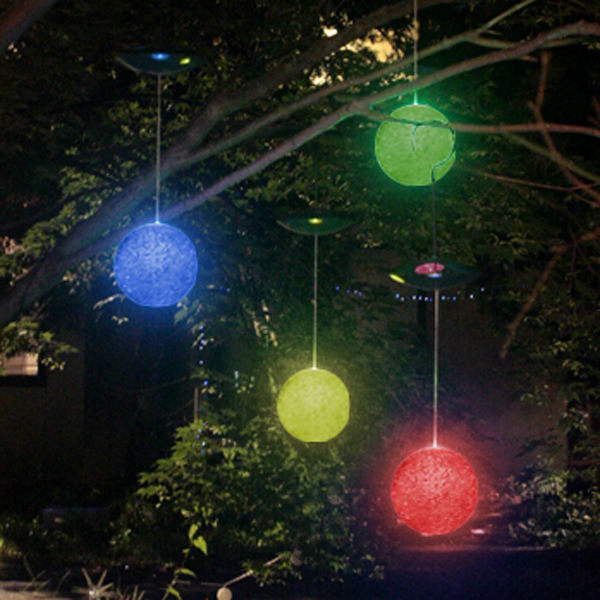 Backyard Lights Solar : Fantastic Solar Outdoor Lights for Garden  Freshnist